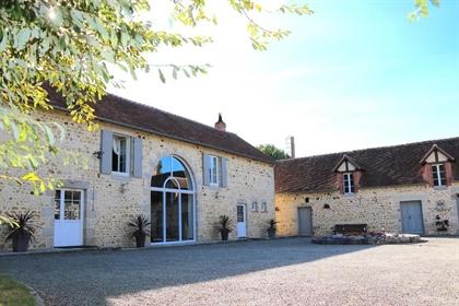 Normandie - Charmante maison ancienne restaurée à proximité d'Al
