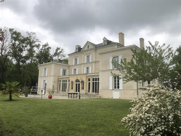 Demeure de charme restaurée avec goût en Anjou