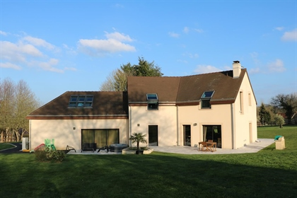 A stunning contemporary house in Normandy