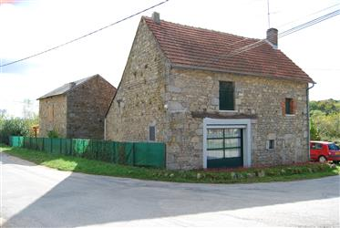 A fully renovated house with attached garden.