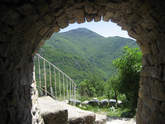 Ferme ancienne rénovée de la pierre naturelle dans la région...