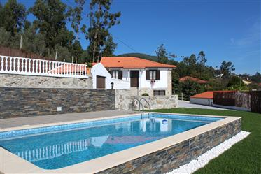 Stone house completely renovated, with pool