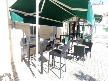 A Mâcon en Bourgogne,fonds de commerce Bar-brasserie, Tabac