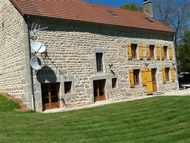 Beautiful Stone Home in Tranquil Creuse