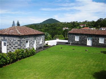 Casas com vista para o mar no Faial - Azores