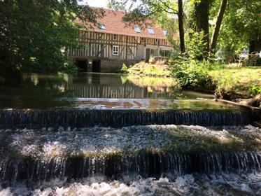 In Champagne : Beautiful Mill and second house