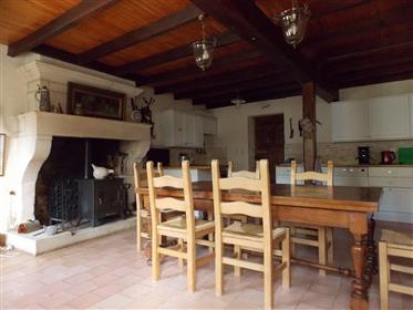 Close Saintes For Sale Spacious Charentaise With Pool Garage And Outbuilding