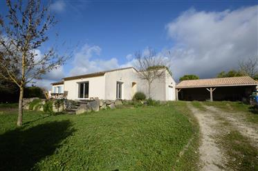 Near Saintes For Sale Bungalow On One Level 3 Bedrooms Garage Garden