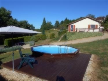 Maison avec gîte séparé et piscine