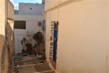 Εξοχικό σπίτι στούντιο. Βεράντα στον τελευταίο όροφο. Θέα στη θάλασσα - Ανατολική Κρήτη