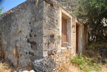 Στούντιο Δωμάτιο με κήπο.  Έργο ανακαίνισης-Ανατολική Κρήτη