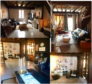 Architecturally Inspiring Renovated 17th-century Village House - 3 floors, bright, spacious, modern
