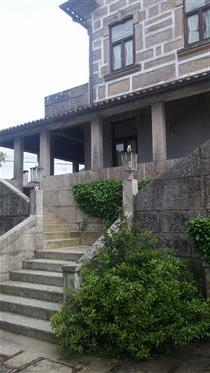 Oude stenen Townhouse