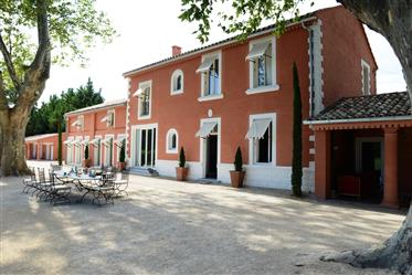 Luxury property for sale in the Alpille park with a nice planted garden