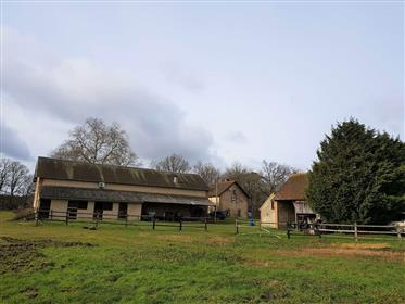 Hunting and equestrian property for sale close to Sully sur Loire in the Orléans forest