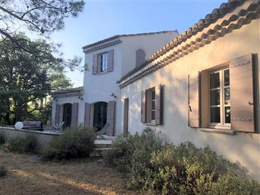 Modern house for sale in Menerbes with a garden and a swimming pool