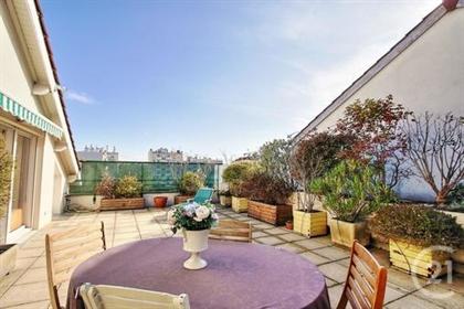Lyon 8E, Monplaisir : Exceptionnel Appartement-Terrasse / 5 Chambres A Quelques Pas De La