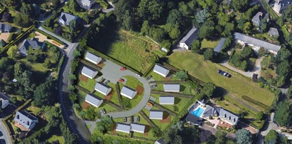 Terrain 402 m²