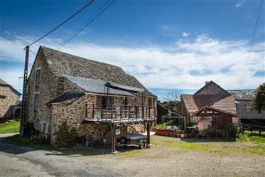 House in Aveyron, new price.
