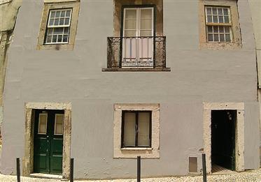 Κενή κτίριο με 5 ορόφους στο ιστορικό κέντρο της Λισαβόνας