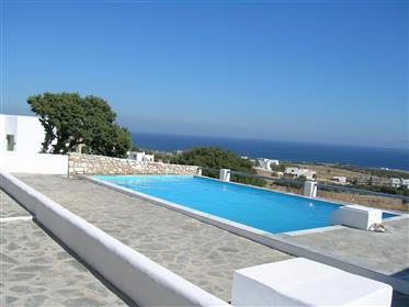 Apartment mit Meerblick und Pool auf der Kykladeninsel Paros...