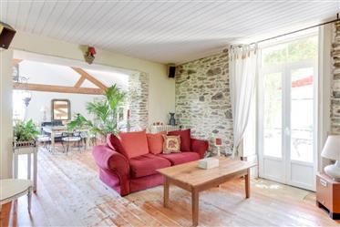 Schönes Haus in Kanten der Loire
