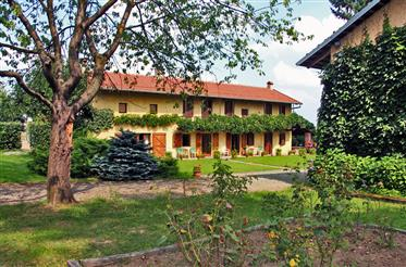 A charming enclave in the countryside of Piedmont. Piedmont is the New Tuscany !