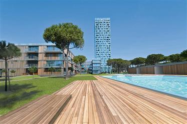 Appartement en front de mer dans une résidence moderne