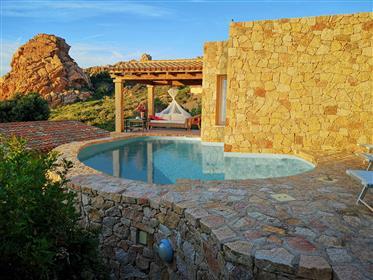 Sardinia, luxury villa sea view