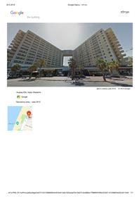 Apartment for sale in Ashdod on the first line promenade on the sea!!!
