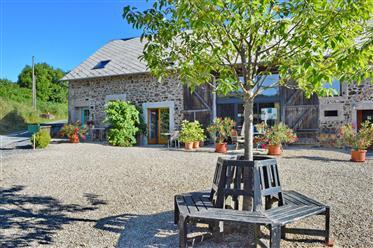 Maison, 5 gîtes, studio, chambre d'amis, piscine chauffée, emplacement fantastique, entièrement réno