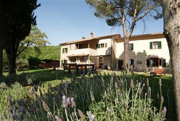 Agriturismo mit Traumblick über Arezzo