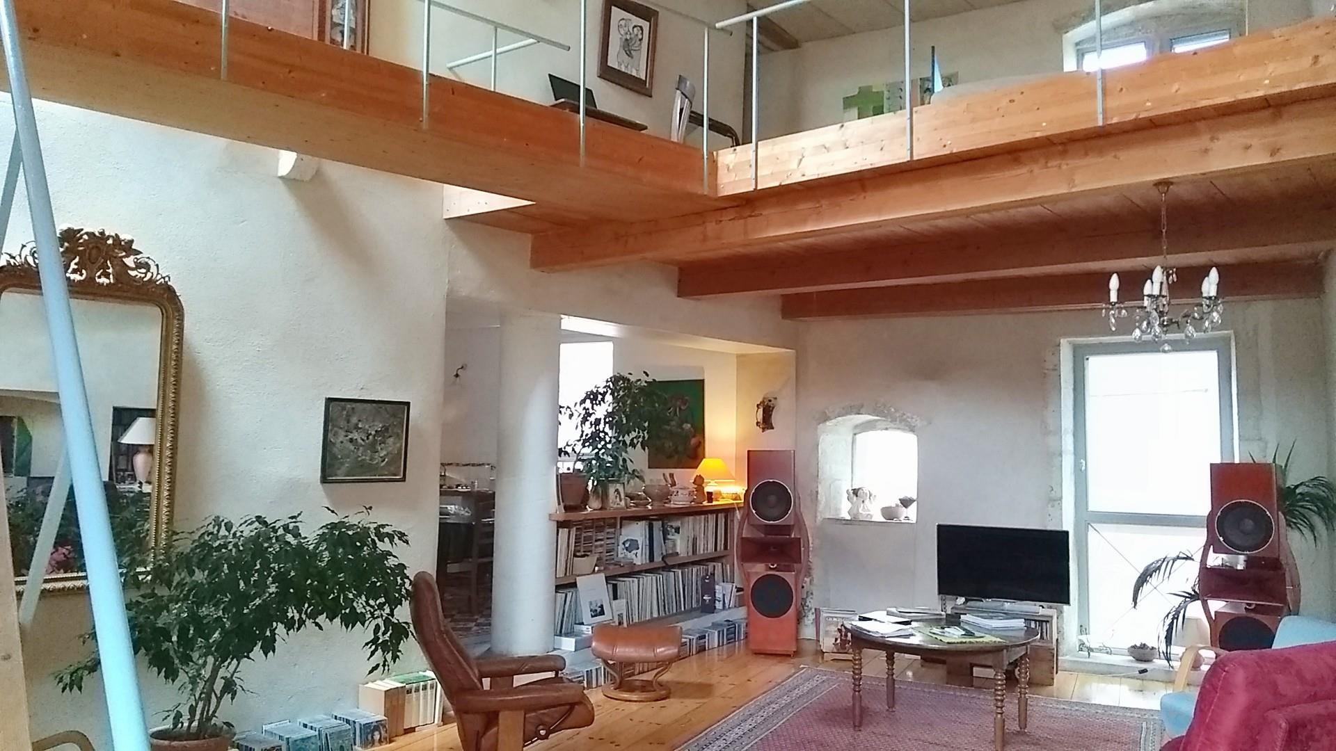 Baie Vitrée Voutée maison ancienne revisitée par architectes