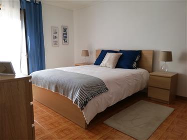 Apartamento T3 Duplex primeira linha vista mar Praia da Barr...