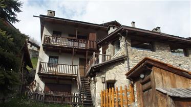 Apartamento italiano da estância de esqui
