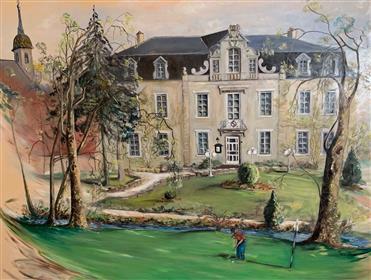 Château à usage d'hôtel-restaurant