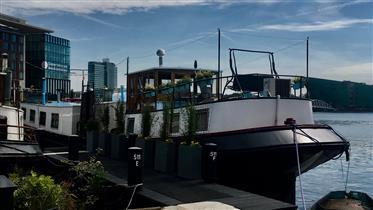 Casa flotante Ms 3 Gebroeders-Amsterdam