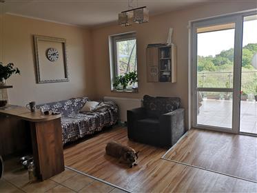 Sale of a wonderful apartment among greenery. Apartment 59.20 m2, terrace 25 m2, cell Lokatorska