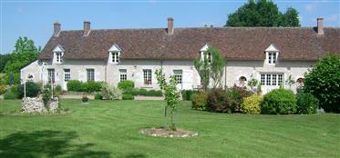 Gerestaureerde boerderij, open, gewelfde plafonds