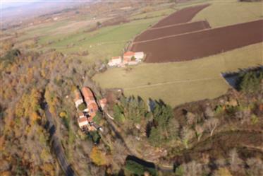 Schöne alte Bauernhaus Eigentum renoviert