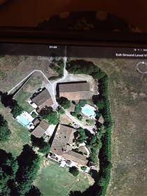 Casa principal e Gite com 2 piscinas