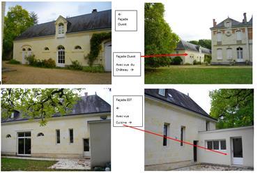 Maison 121 m² dans le parc d'un château
