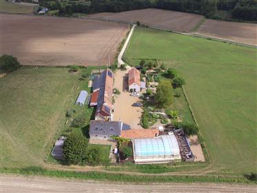 Farmhouse + Gites + Large Pool + Renewable Energies