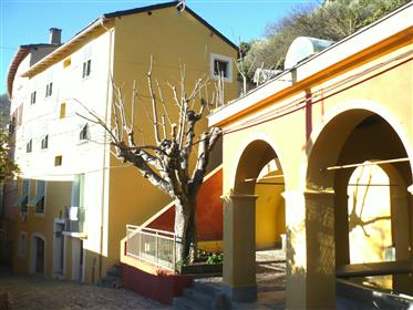 Charming apartment in Saorge, 1 hour from Nice, South-east of France