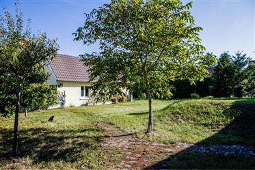 Family house with large garden in France, near Basel. 200M2