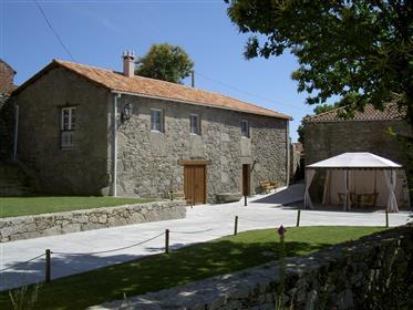 Casa de fazenda galega tradicional