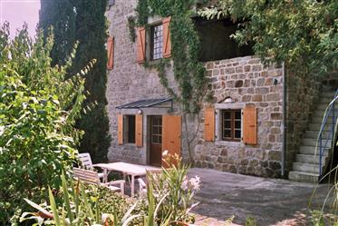 Manor house in the Ardeche France