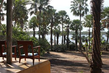Casa en el borde de la laguna de tatajuba - Ceara