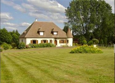Perfect family house in a Normandy
