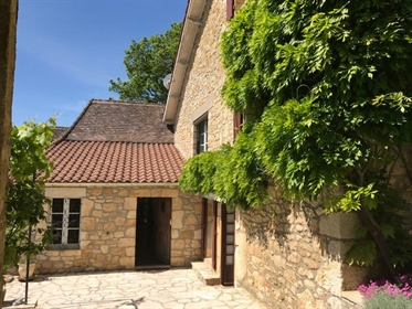 Stone property with swimming pool and panoramic view